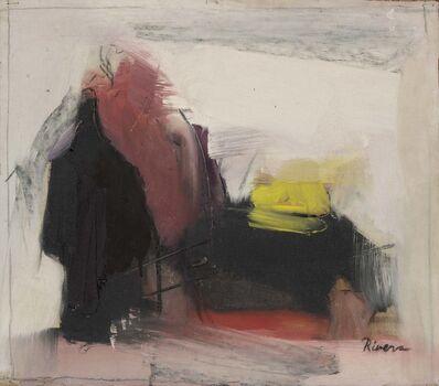 Larry Rivers, 'Purple & Figure'