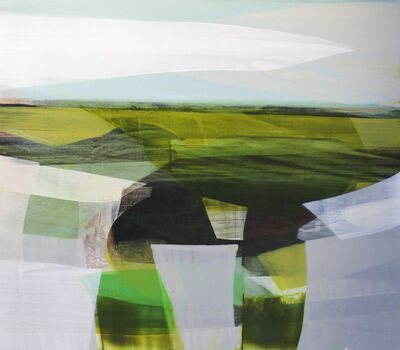 Katherine Sandoz, '(color fields) tidal pools', 2014-2015