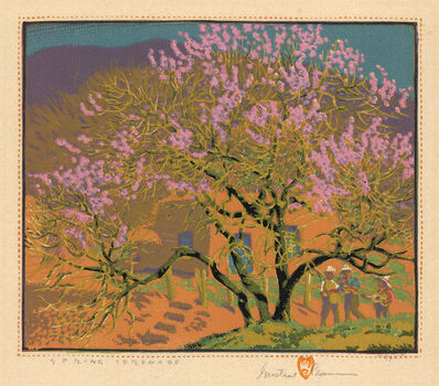 Gustave Baumann, 'Spring Serenade.', 1927