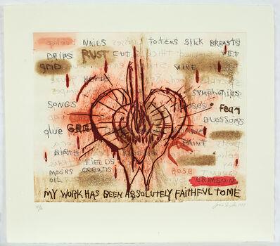 Joan Snyder, 'My Work….', 1997