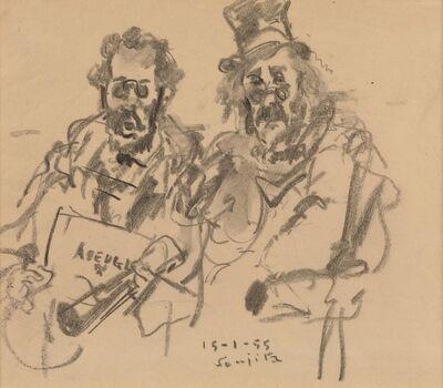 Léonard Tsugouharu Foujita, 'The Musicians', 1955