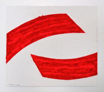 Pino Pinelli, 'Studio per Pittura R', 2018