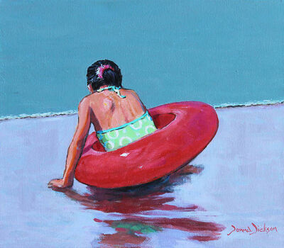 Donna Dickson, 'At the Beach'