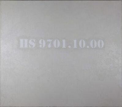Ni Haifeng, 'HS 9701.10.00', 2015