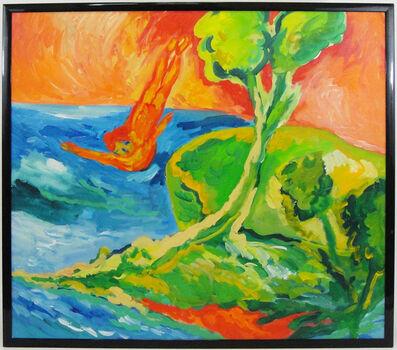 Mimmo Germanà, 'Dive (Tuffo)', 1987