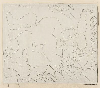 Pablo Picasso, 'L'Étreinte II (Bloch 1151)', 1963