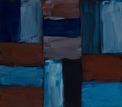 Sean Scully, 'Doric Blue Inner', 2016