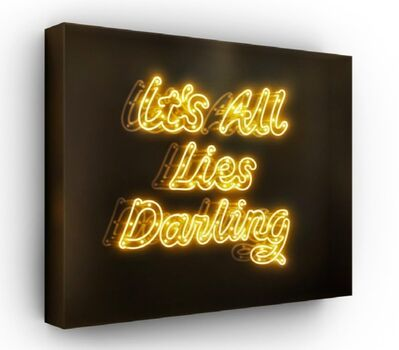 David Drebin, 'It's All Lies Darling', 2015