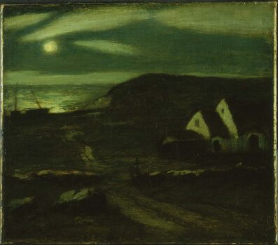 Albert Pinkham Ryder, 'Fisherman's Hut'
