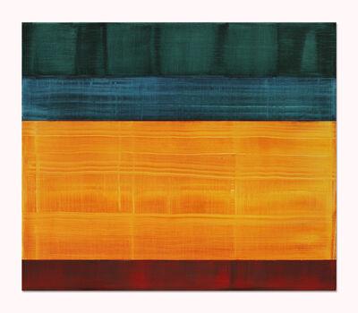 Ricardo Mazal, 'Composition in Greens 4', 2014