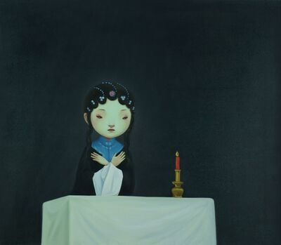 Lin Hairong, 'Cold Night Lights', 2011