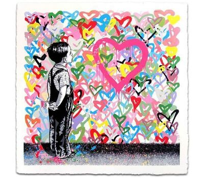 Mr. Brainwash, 'WITH ALL MY LOVE ', 2016