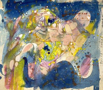 William Scharf, 'Boxed Galaxy', 1957