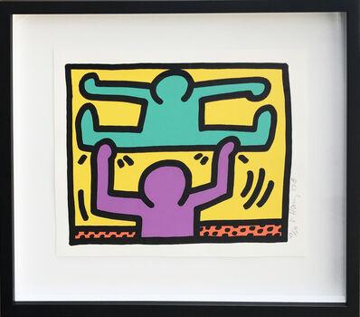 Keith Haring, 'Pop Shop I (D)', 1987