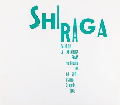 Kazuo Shiraga, 'Shiraga', 1962