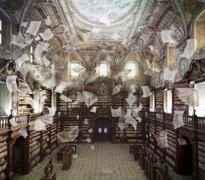 Raffaela Mariniello, 'La memoria violata, Biblioteca dei Girolamini, Napoli', 2017