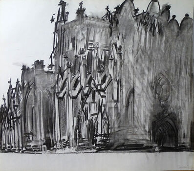 Dennis Creffield, 'Bristol Cathedral', 1987