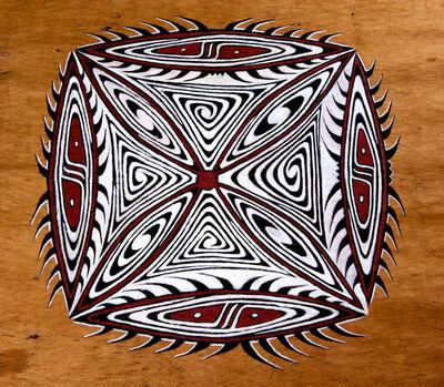 Agus Ongge, 'Square Motif', 2011