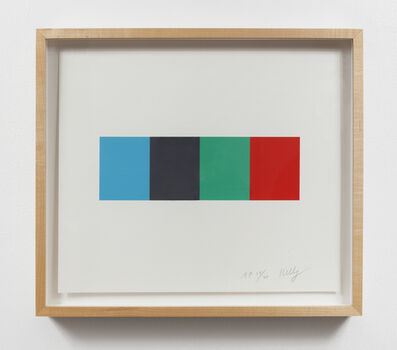 Ellsworth Kelly, 'Blue Gray Green Red', 2008