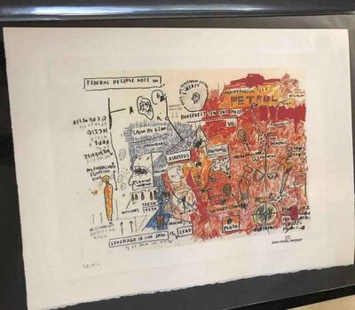 Jean-Michel Basquiat, 'Liberty', Unknown