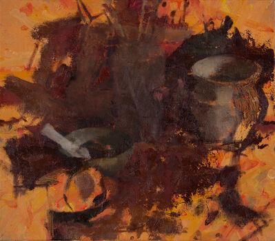 Jordan Wolfson (b.1960), 'Still Life with Red Tapestry VI', 2013