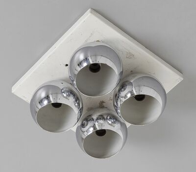 Arredoluce, 'A 'Mirage' wall or ceiling lamp', early 1970's