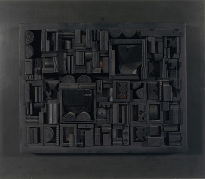 Louise Nevelson, 'City Scape', 1972