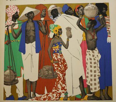 Jean de la Mézière, 'Rare Lithographic Poster by De La Mézière for the 1931 Paris Colonial Exhibition', 1931