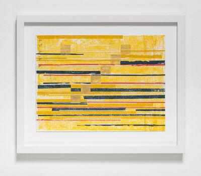 Ronny Quevedo, 'every measure of zero (golden markers)', 2017