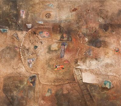 Sliman Mansour, 'A Promenade to Beit Dajan', 1990