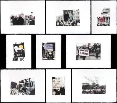 Soledad Salamé, 'Women's March I, II, III, IV, V, VI, VII, VIII, IX', 2017
