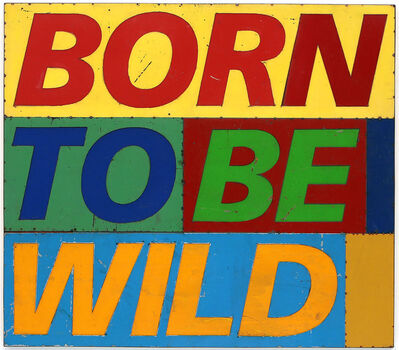 David Buckingham, 'Born To Be Wild', 2018