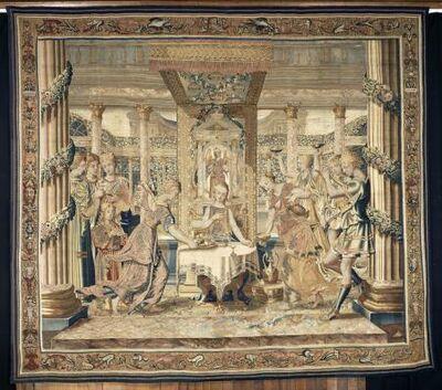 'Le repas de Psyché (Psyche's Meal)', 17th century-before 1667