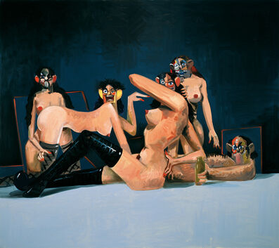 George Condo, 'Orgy Composition', 2008