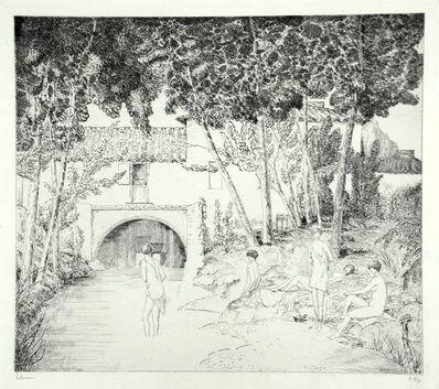 Jean-Emile Laboureur, 'Le Moulin Abandonné', 1934