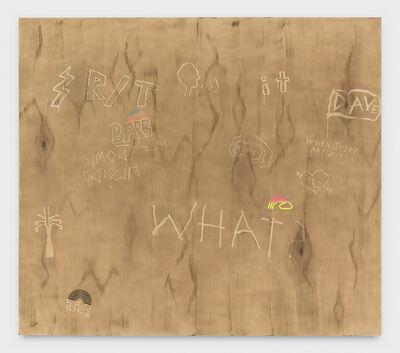 Wendy White, 'WHAT?', 2020