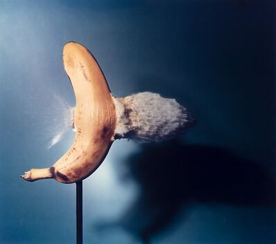 Dr. Harold Eugene Edgerton, 'Bullet Through Banana', 1964
