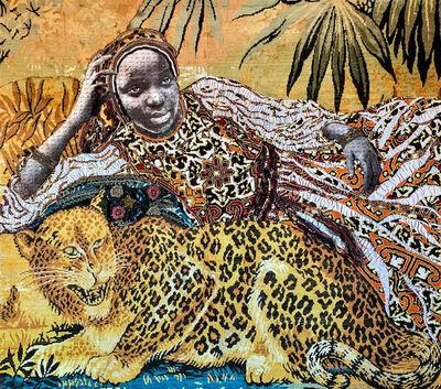 Marion Boehm, 'Leopard Girl ', 2019