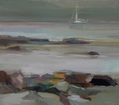 Christine Lafuente, 'Rocky Cove in Fog', 2017