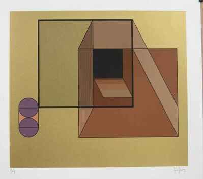 Manuel Felguérez, 'Appearances and resurrections', 2004