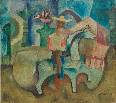 Mario Carreño, 'Guajiro a caballo', 1946