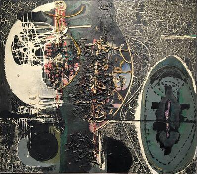 Gianni Dova, 'Omaggio a Tapies', 1953
