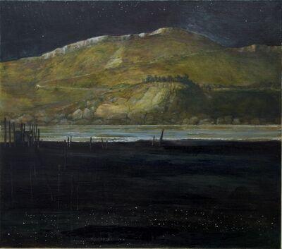 Hans Benda, 'Moonlight Black Beach', 2020