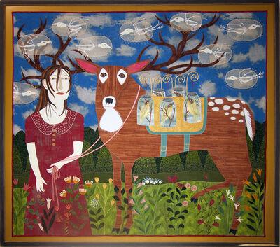 Chris Roberts-Antieau, 'Untitled (Woman With Deer)', 2013