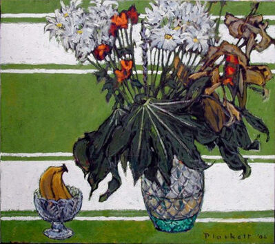 Joseph Plaskett, 'Last Painting of Bouquet'