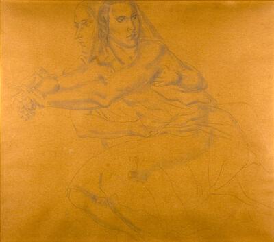 Léonard Tsugouharu Foujita, 'Deux femmes'