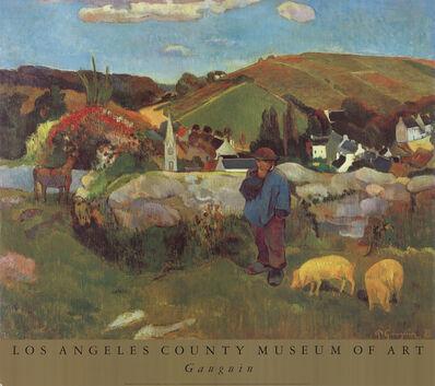 Paul Gauguin, 'A Swineherd, Brittany', 1991