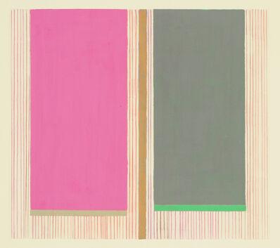 Elizabeth Gourlay, 'Magenta gray ', 2020