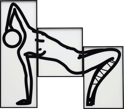 Julian Opie, 'This is Shahnoza in 3 parts (8)', 2008