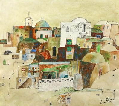 Sliman Mansour, 'Al Samoo' Village', 1980
